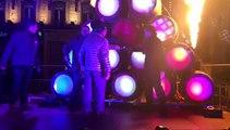 Mise en perce Beaujolais nouveau 2017 place des Terreaux à Lyon