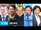문재인 '통합' 행보 VS 안철수 '안보' 행보 / YTN (Yes! Top News)
