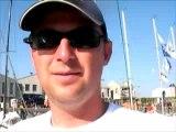 Mini-Transat 2007 David Sineau sur Bretagne Lapins