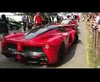 LaFerrari 2x Launch Control + Burnout  Ferrari LaFerrari LOUD Revs, BURNOUT + LAUNCH