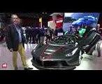 2017 Ferrari LaFerrari Aperta [MONDIAL DE L'AUTO]  la présentation vidéo sur le stand Ferrari
