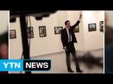 터키 주재 러시아대사 피격 사진 '올해의 보도 사진' / YTN (Yes! Top News)