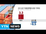 지난해 GDP 2.7% 성장...2년째 저성장 국면 / YTN (Yes! Top News)