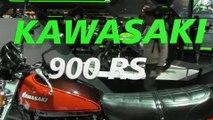 Kawasaki 900 RS et Kawasaki 900 RS CAFE, nouveauté 2018 - Milan (EICMA 2017)