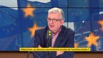 """Sur l'Europe, Pierre Laurent estime avoir un  """"diagnostic commun"""" avec Jean-Luc Mélenchon : """"la question, c'est la conclusion qu'on en tire"""""""