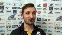 Hockey sur glace D2 2017-11-11 Interview Romain Bonnefond Entraîneur Roanne