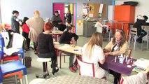 La présentation du lycée Jean Moulin par Isabelle Lagadec, la proviseure