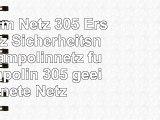 Premium Netz 305 Ersatznetz Sicherheitsnetz Trampolinnetz für Trampolin 305  geeignete