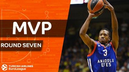 Round 7 MVP: Errick McCollum, Anadolu Efes Istanbul