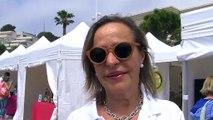 Mary Grubert, du Rotary Club Carry Côte Bleue, et organisatrice du salon.