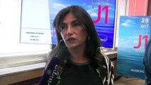 Christine Cabau Woehrel au micro d'Ulrich Téchené