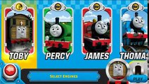 Thomas Tank Engine & Friends: Race On Game - Ulfstead Castle - Stations Levels 1-6 All Engines