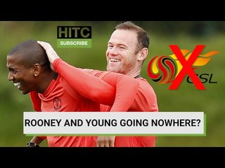 Rooney And Young Going Nowhere? Transfer Deadline Day Deals And Rumours