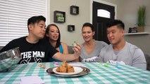 BABY FOOD VS REAL ADULT FOOD CHALLENGE! Ft. Bart Kwan & Geovanna Kwan