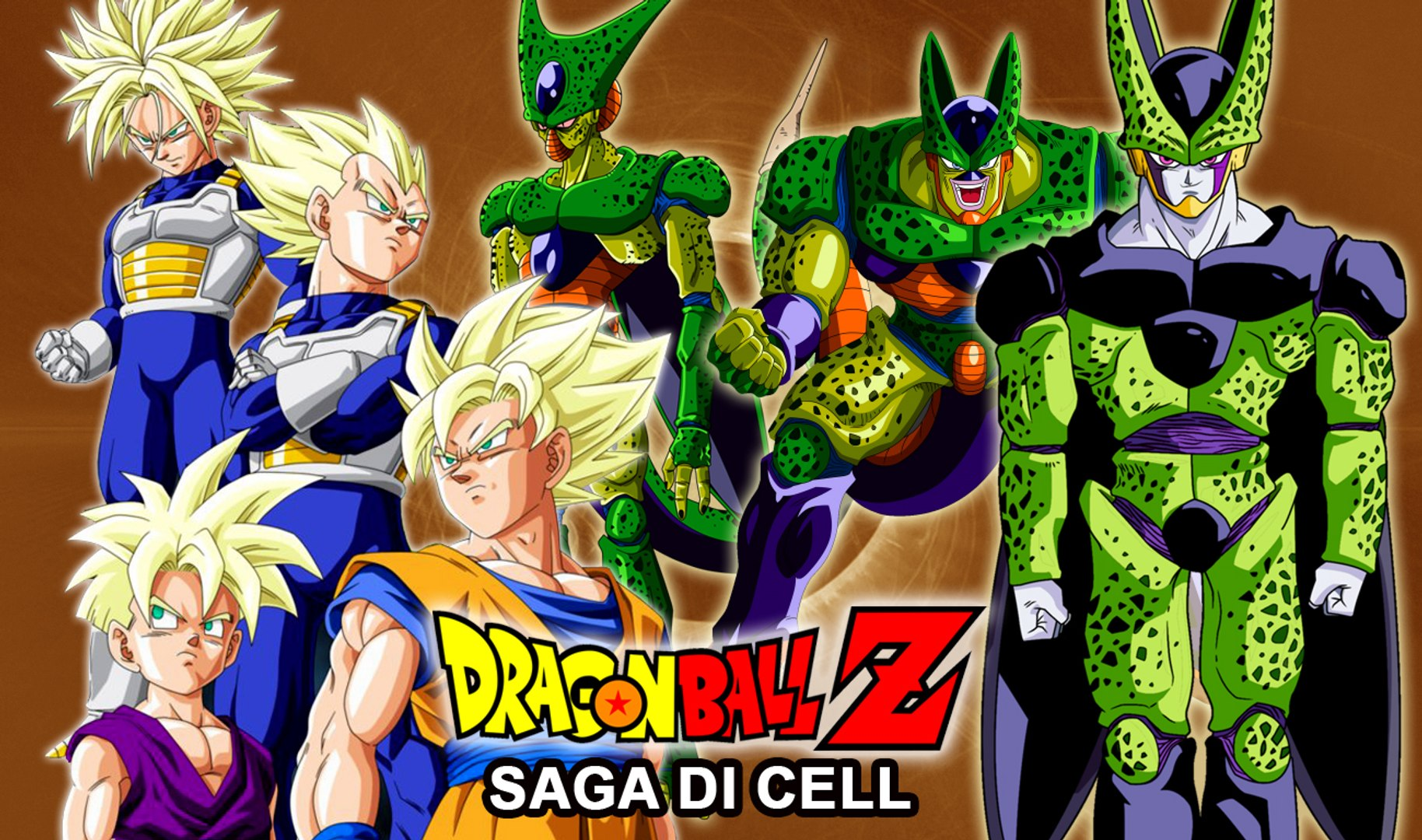 Risultato immagini per dragon ball cell saga
