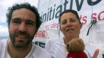 TJV 2017 - Initiatives-Cœur - Tanguy de Lamotte et Samantha Davies