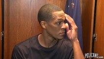 Pelicans-Hawks Postgame: Rajon Rondo 11-13-17