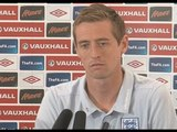 Wales v England: Peter Crouch