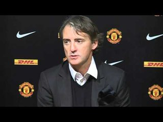 man united 1 6 man city mancini says united still better than city