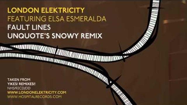 London Elektricity - Fault Lines - Unquote's Snowy Remix feat Elsa Esmeralda