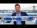 New York City FC unveil new signing Frank Lampard