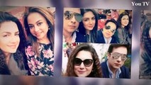 Faysal Qureshi With His Wife And Daughter