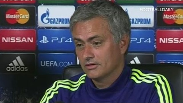 Mourinho: 'I am part of Champions League history'   Chelsea v FC Schalke 04 UEFA Champions League G