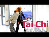 Tai chi combat tai chi chuan - How to block a punch and kick use tai chi combat. Q13