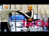 Tai chi combat tai chi chuan - How to use a kick in tai chi combat? Q8