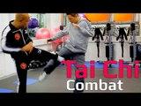 Tai chi combat tai chi chuan - how to deal with kick in tai chi combat. Q9