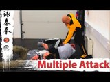 multiple attack - Neck choke from behind Q6