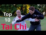 Top 10 Tai Chi Awesome Combat Moves – Taiji Quan Combat Fighting