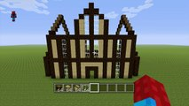 Minecraft Tutorial: How To Make A Wooden House - 7 - video