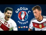 EURO 2016 Group C Preview | Germany, Poland, Ukraine & Northern Ireland