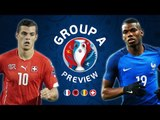 EURO 2016 Group A Preview | France, Switzerland, Romania & Albania