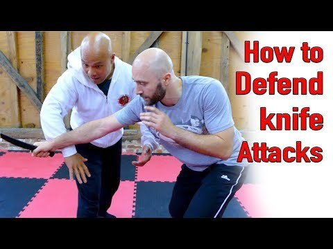 How to defend a knife attack