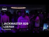 Jackmaster B2B Loefah Boiler Room at W Hotel London DJ Set