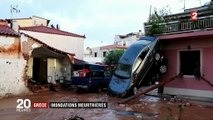 Grèce : inondations meurtrières dans la région d'Athènes