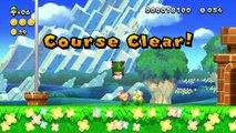 New Super Luigi U - Gameplay Walkthrough Part 1 - Acorn Plains (Nintendo Wii U DLC)