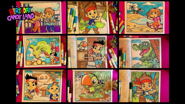 Coloring Pages for kids Youtube | Disney Jake and the Neverland Pirates 06