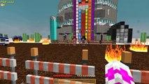 PINK RANGER ENHANCES HER POWERS! Minecraft Power Rangers w/LittleKelly