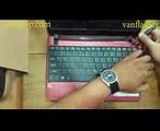 How to replace keyboard Acer Aspire One 722  Mengganti Keyboard Acer Aspire One 722