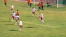 Les deux buts de la rencontre FC Martigues / Tarbes