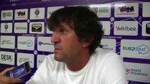 La réaction de l'entraîneur du FC istres José Pasqualetti après le nul face à Auxerre