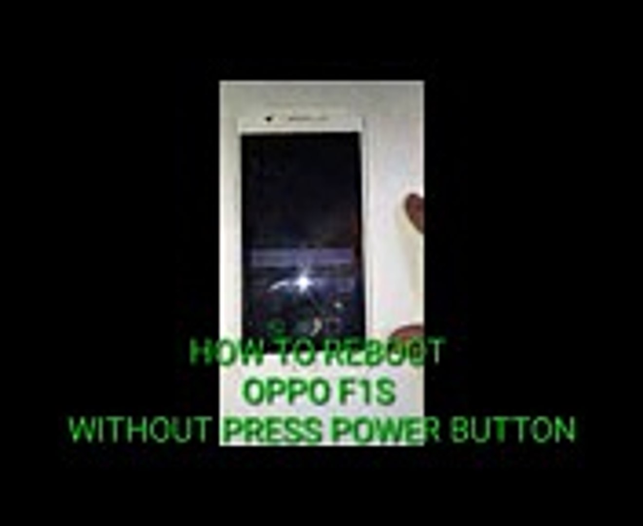 HOW TO RESTART OPPO PHONE WITHOUT USING POWER BUTTON