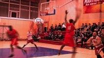 Réaction du Coach de Martigues Basket, Odile Santaniello, après la défaite de l'équipe