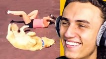 KWEBBELKOP-REACTING TO THE BEST GIFS ON THE INTERNET!