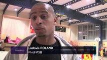 Ludovic Roland pivot du Martigues Sport Basket