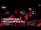 Okzharp b2b Moleskin b2b Ish Boiler Room London DJ Set