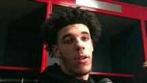 Best NBA post-game interviews 11.9 [LeBron James, James Harden, Lonzo Ball] _ ESPN-r4YhMyJ01Ic
